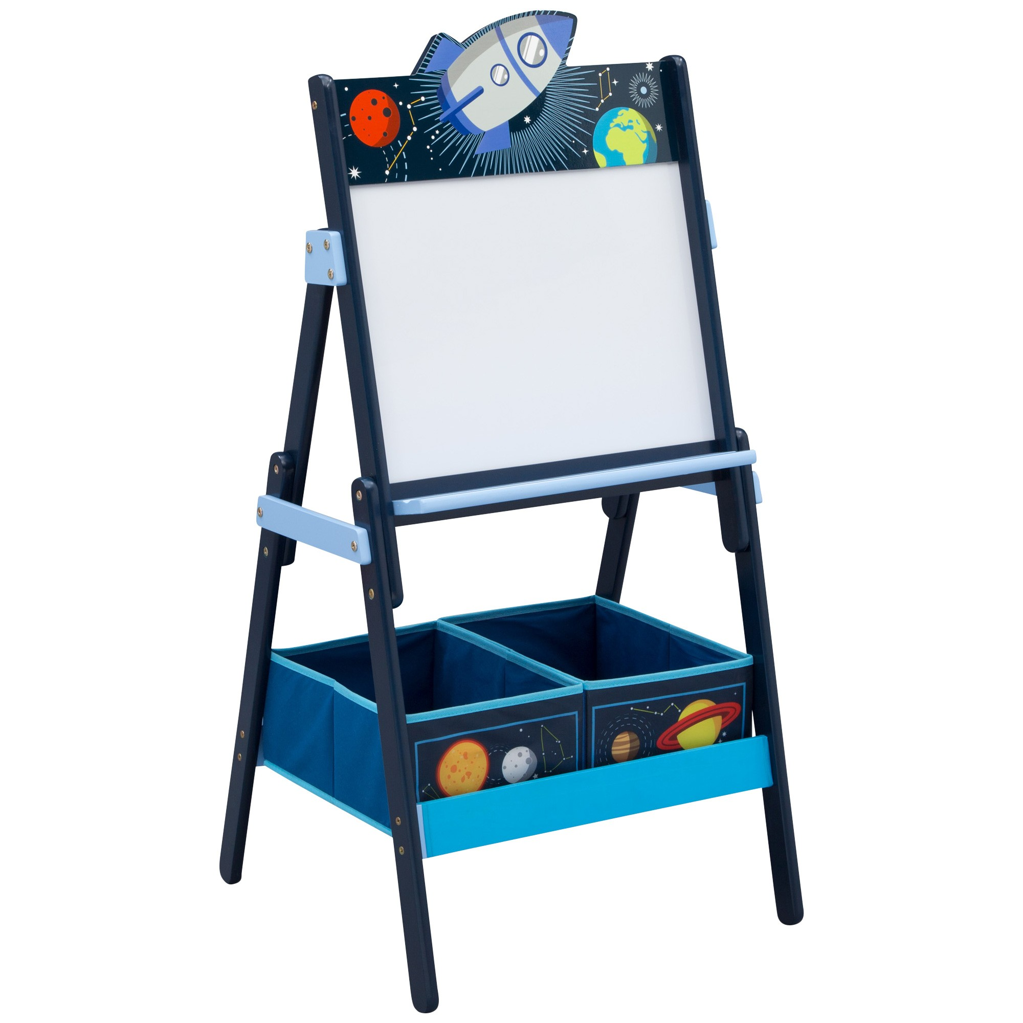 Delta Children Space Adventures Activity Easel with Storage