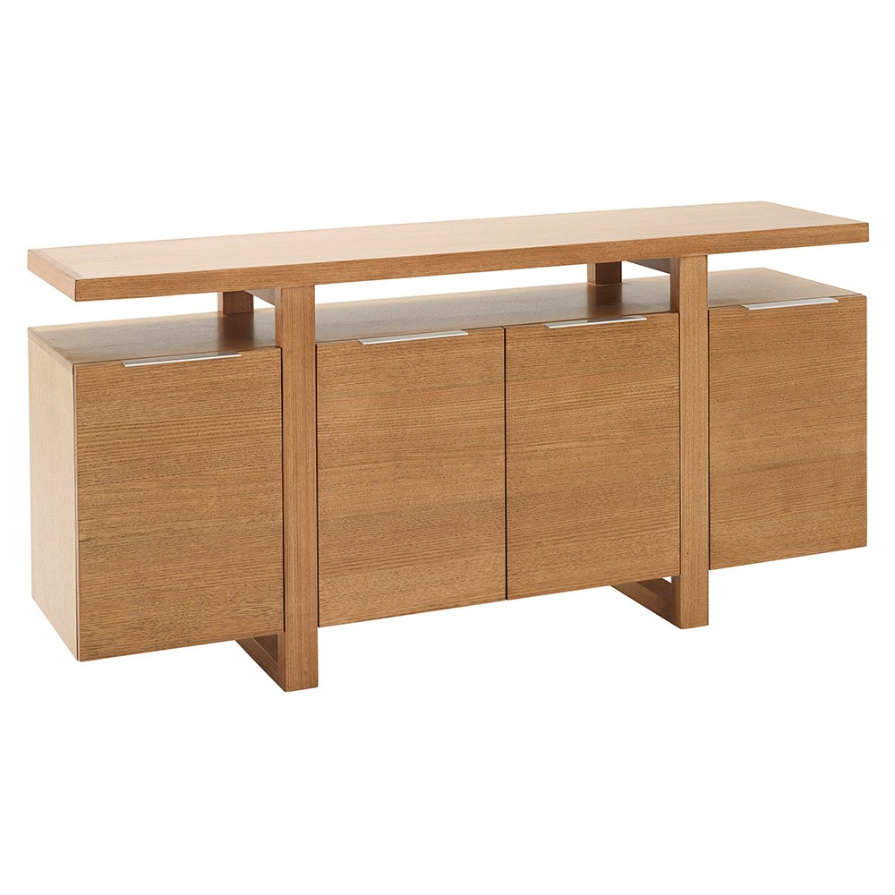 Pinehurst Victoria Ash Timber 4 Door Buffet Table, 180cm