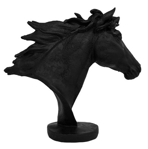 Misha Horse Head Sculpture