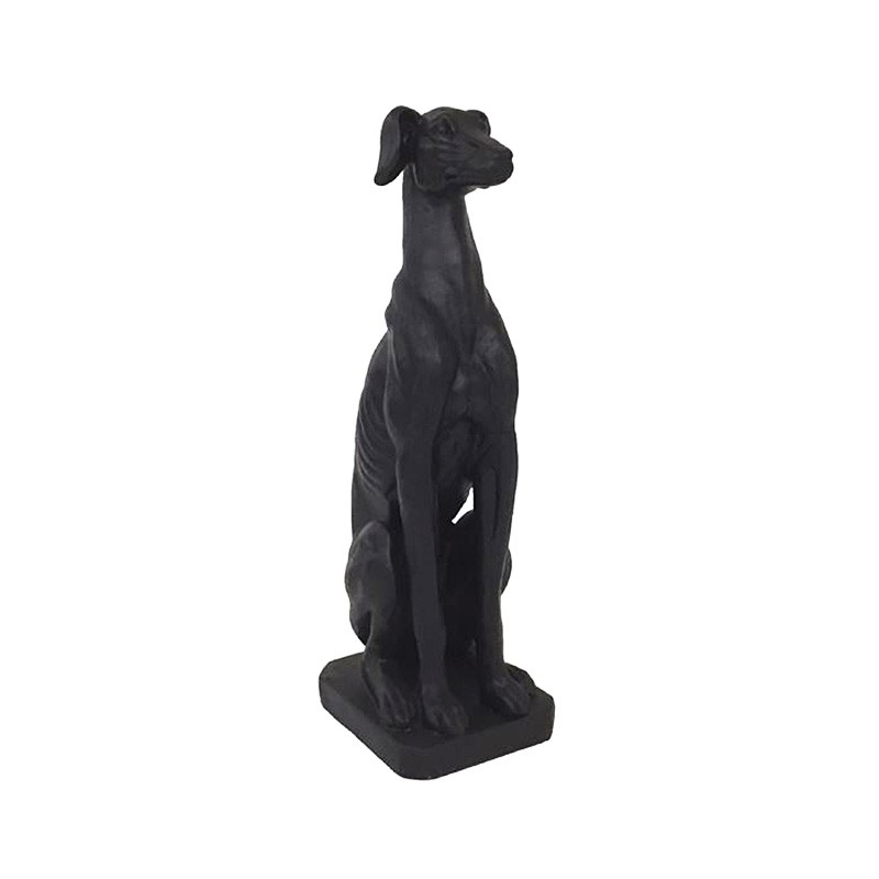Danny Greyhound Dog Statue