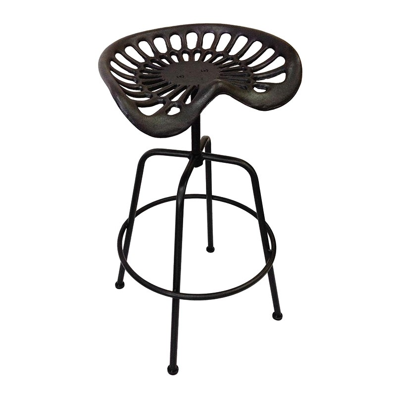 Ballee Iron Tractor Seat Bar Stool
