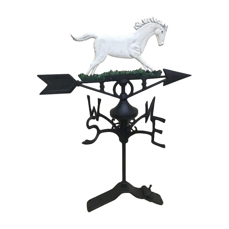 Cast Iron Horse Weathervane