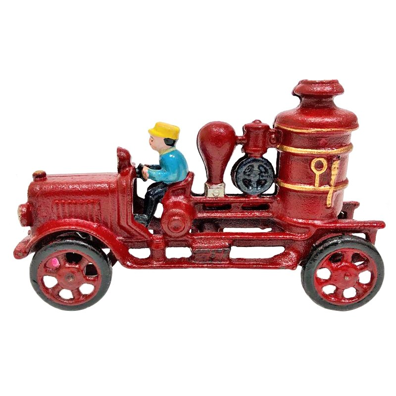 Merryn Cast Iron Vintage Truck Sculpture