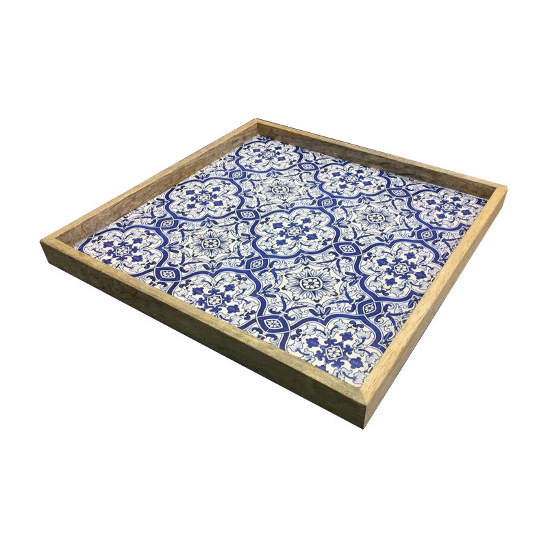 Benson Wooden Tray, Square
