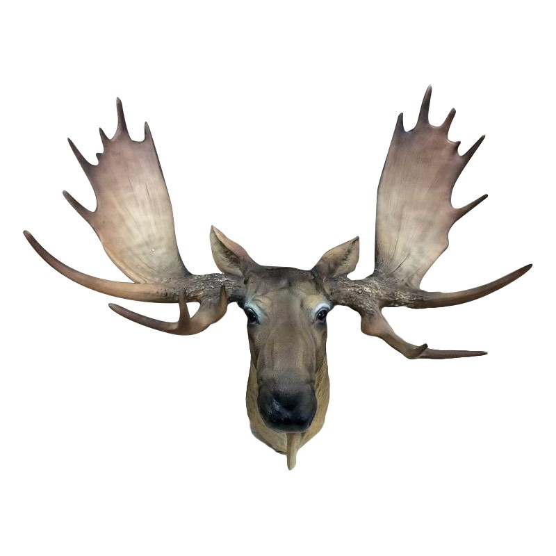 Ellie Moose Head Wall Sculpture