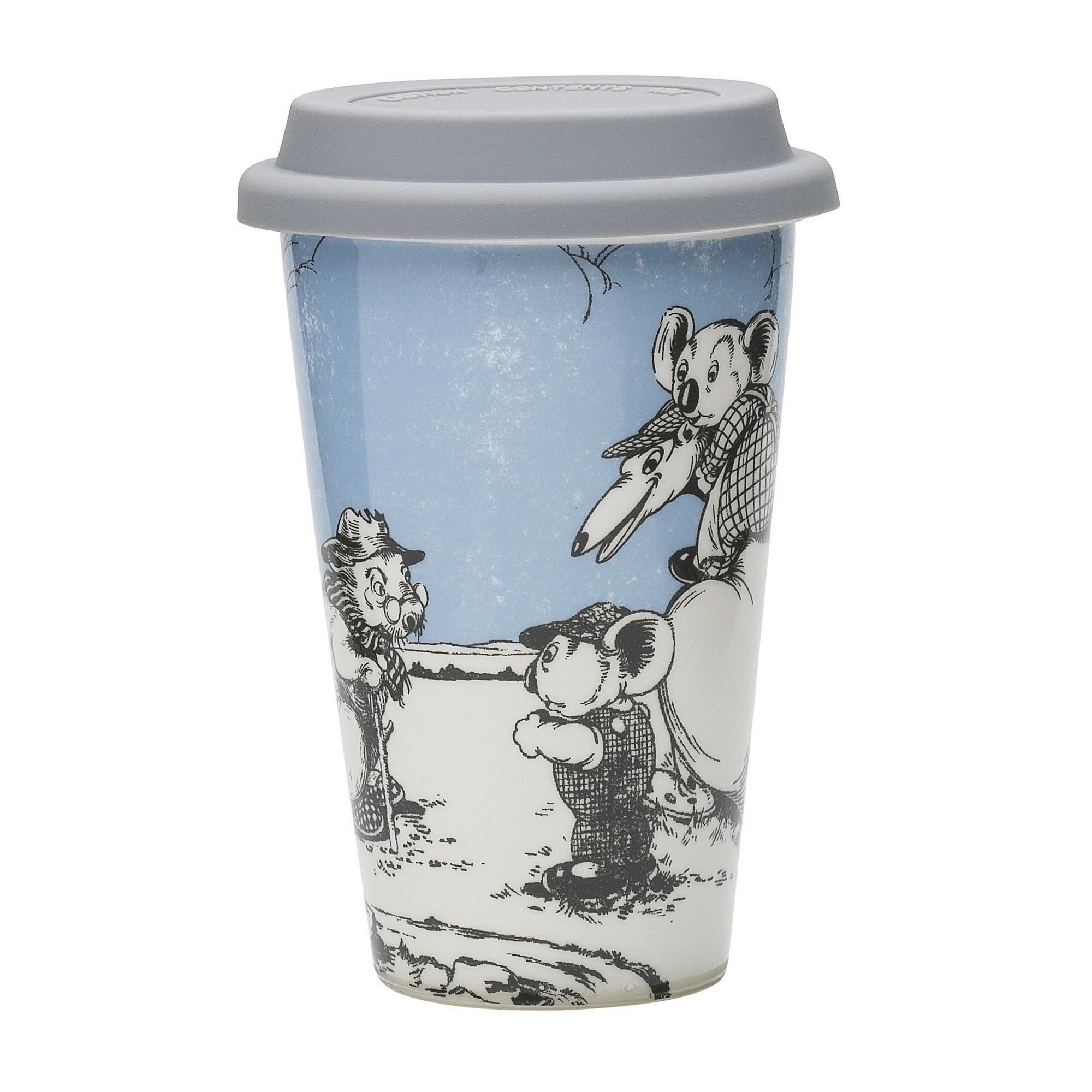 Ecology Blinky Bill New Bone China Travel Mug, Blue