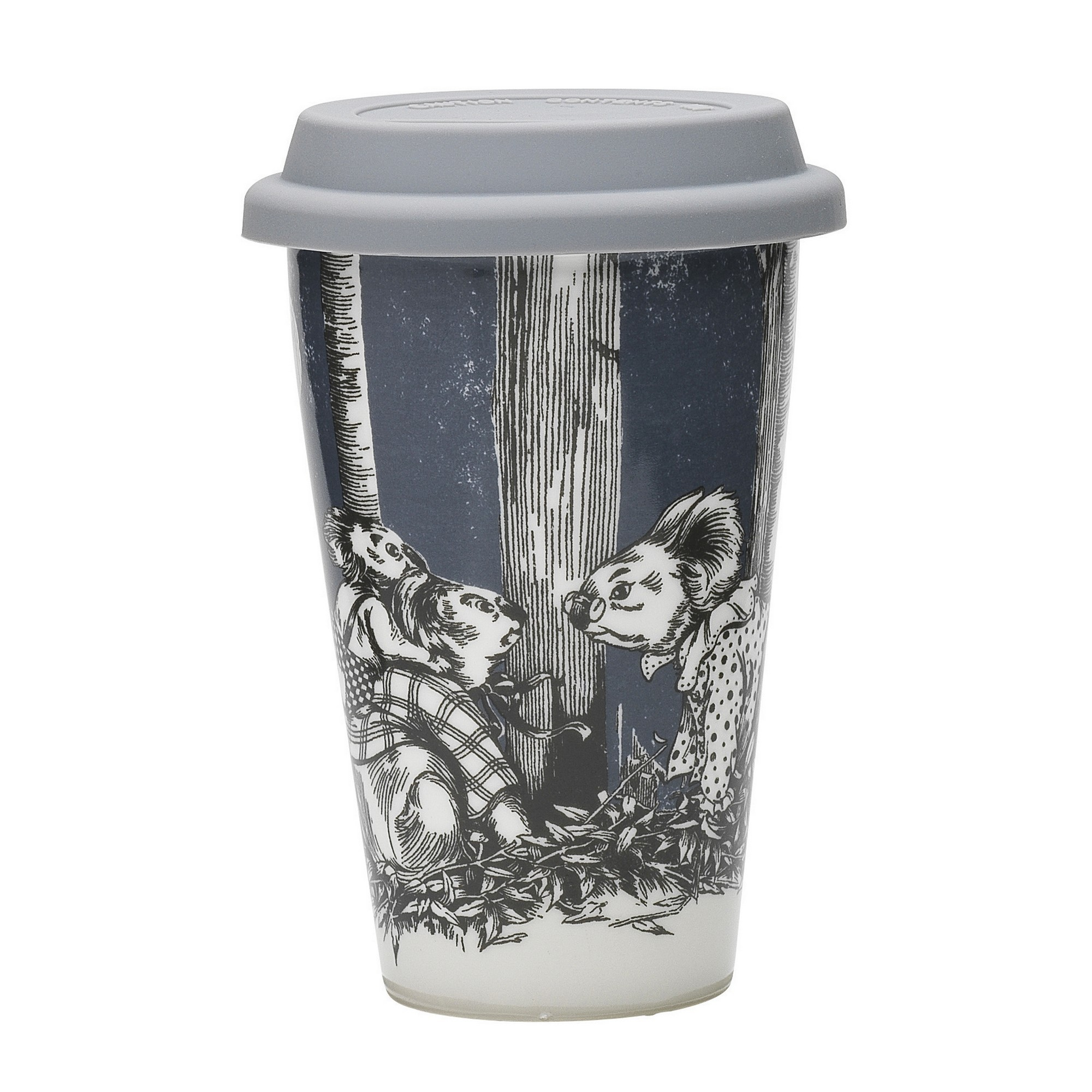 Ecology Blinky Bill New Bone China Travel Mug, Ink