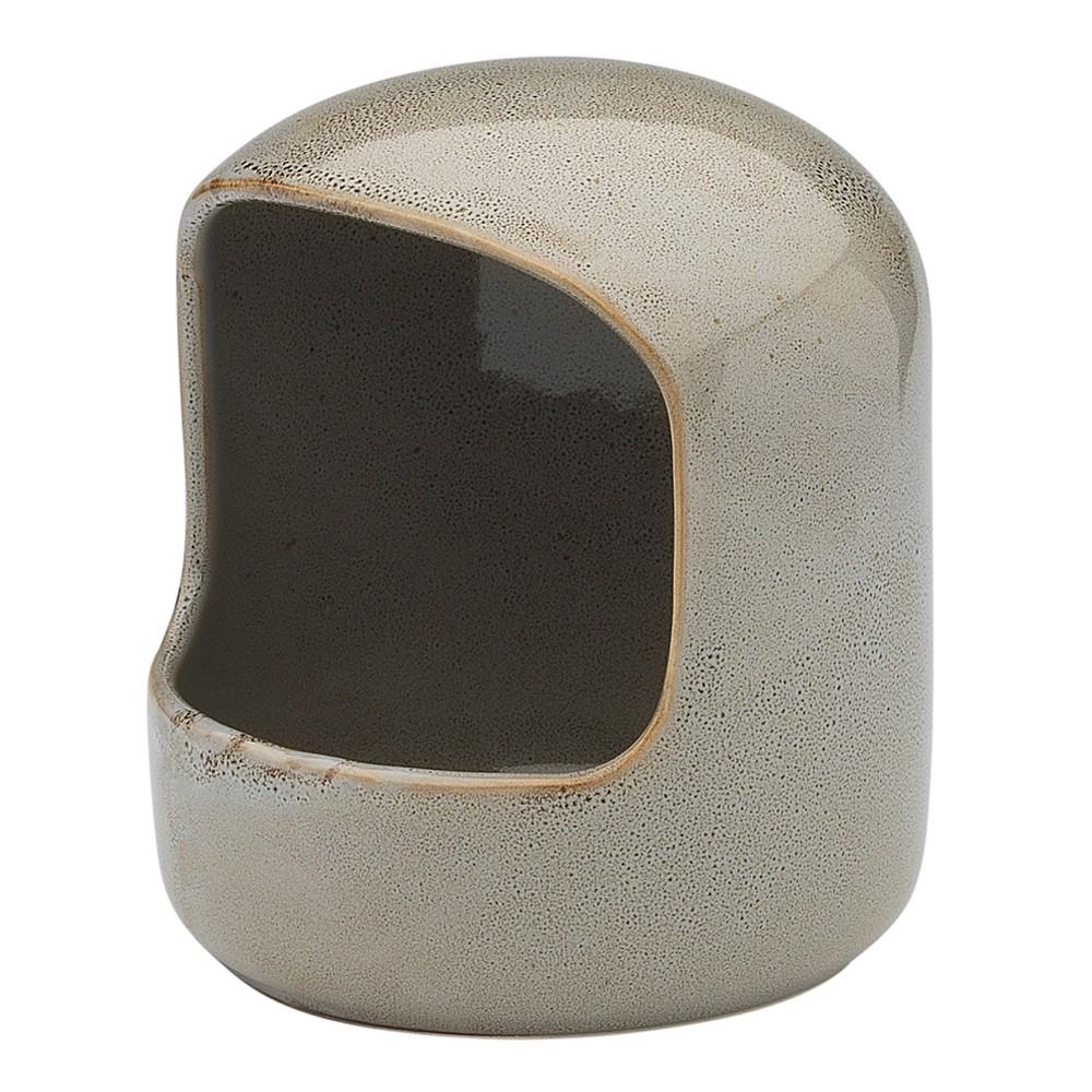 Ecology Mineral Stoneware Salt Pig, Overcast
