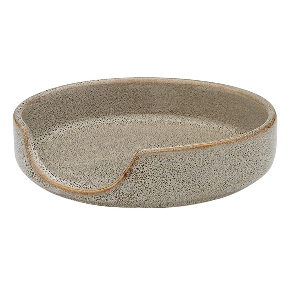 Ecology Mineral Stoneware Spoon Rest, Overcast