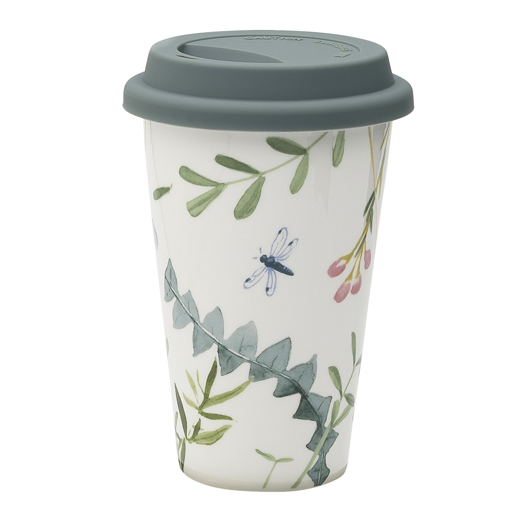 Ecology Greenhouse Ceramic Travel Mug