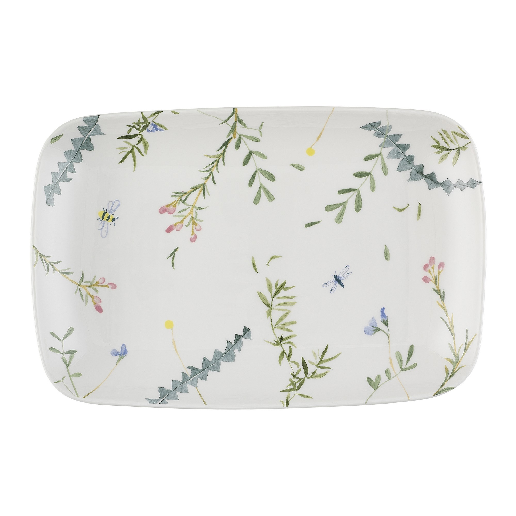 Ecology Greenhouse Ceramic Rectangle Platter