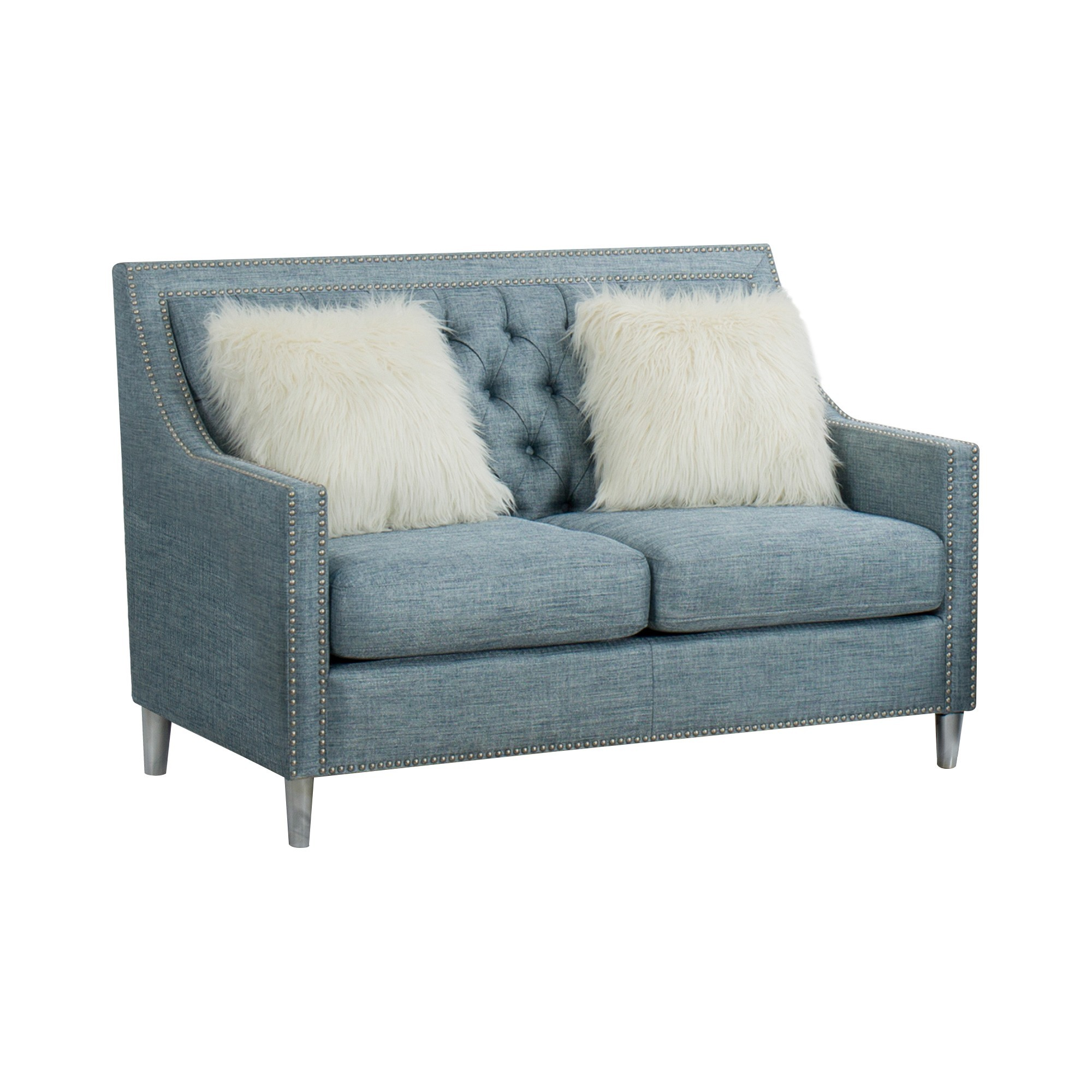 Seville Fabric 2 Seater Sofa