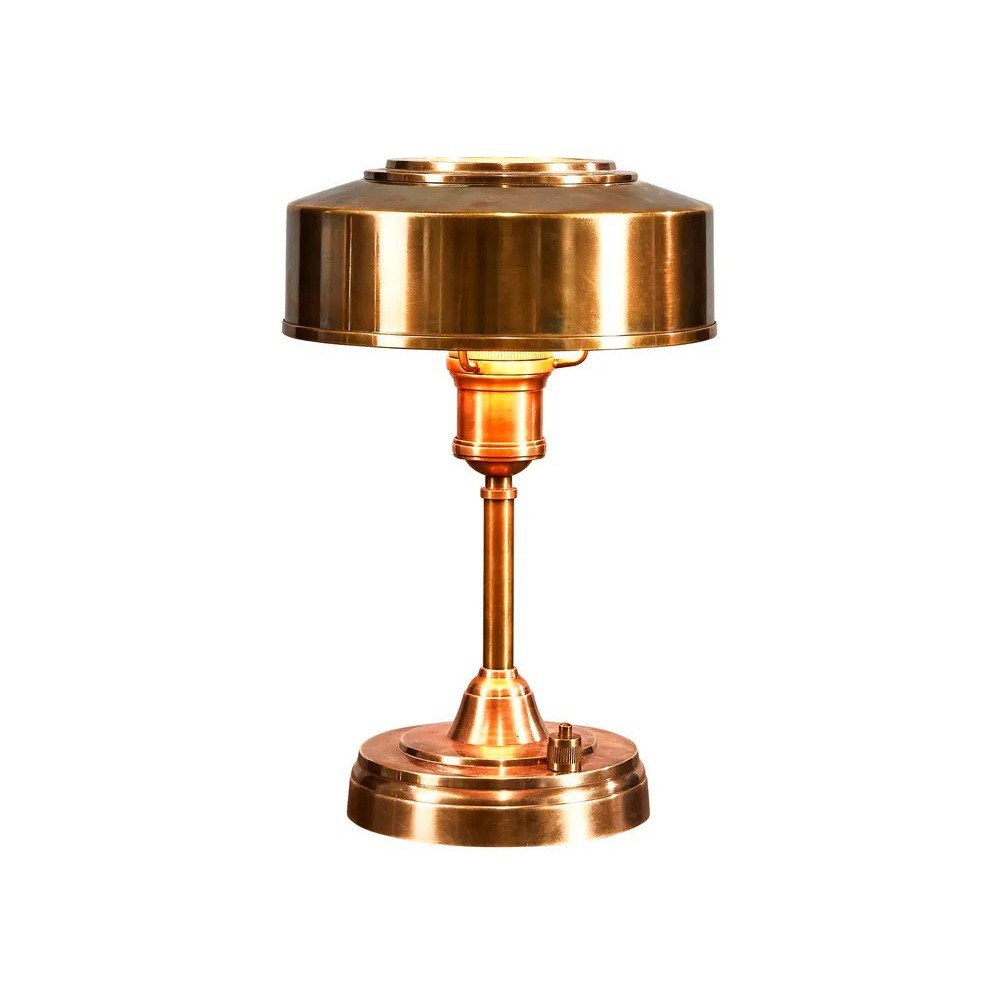 Bankstown Brass Table Lamp, Small, Antique Brass