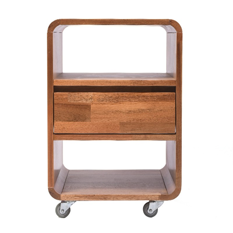 Rhoda Acacia Timber Bedside Table