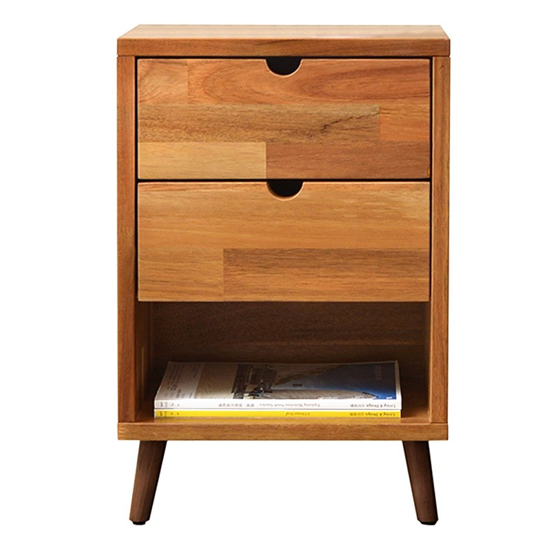 Domo Acacia Timber Bedside Table