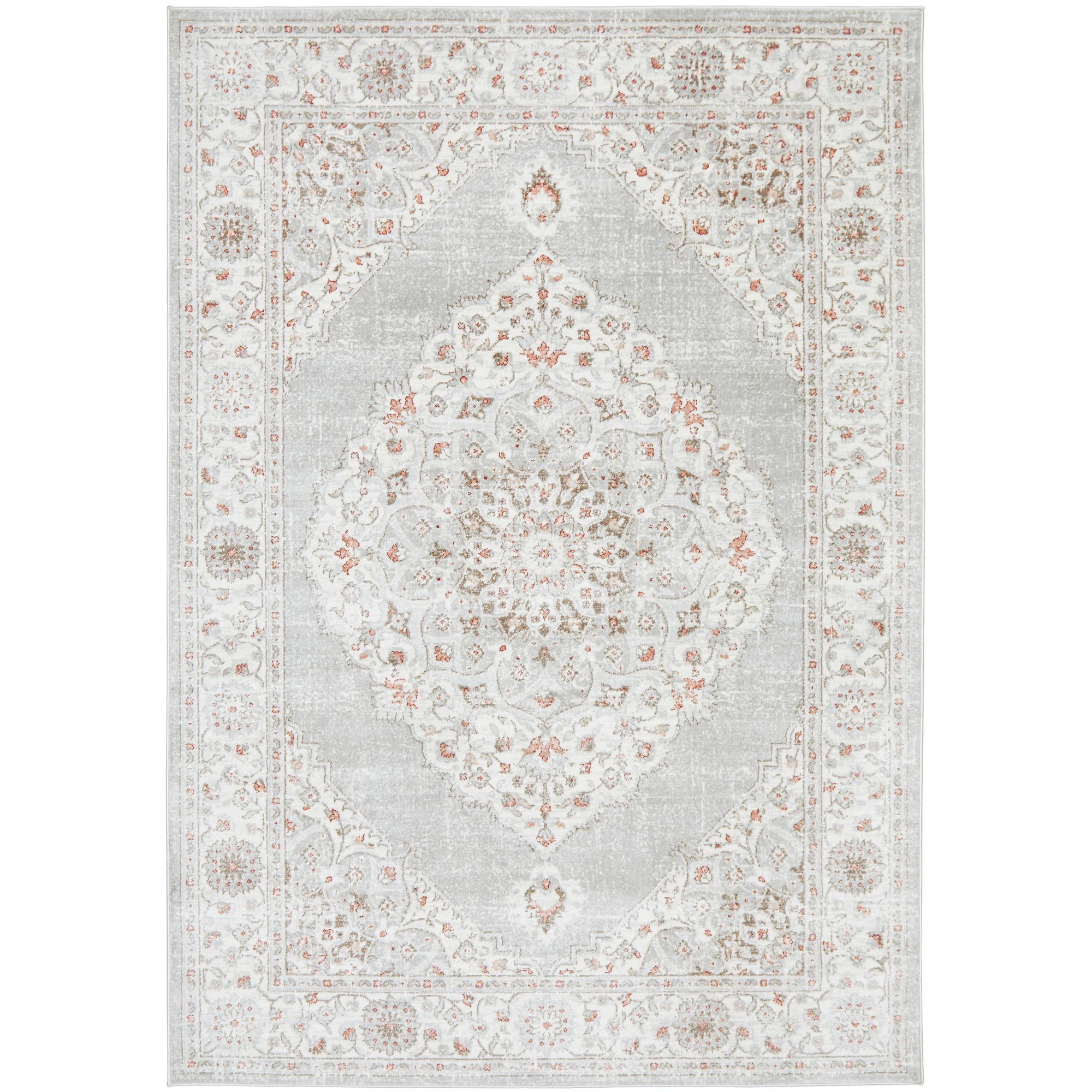 Emotion No.77 Bohemian Rug, 230x160cm, Rose