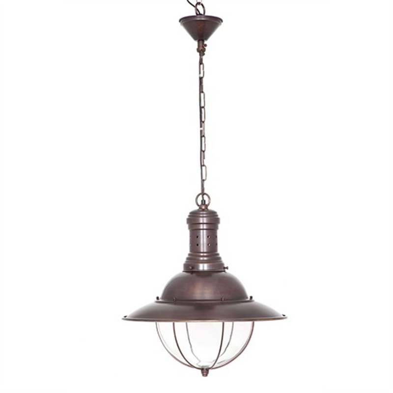 Harrison Metal Pendant Light - Copper