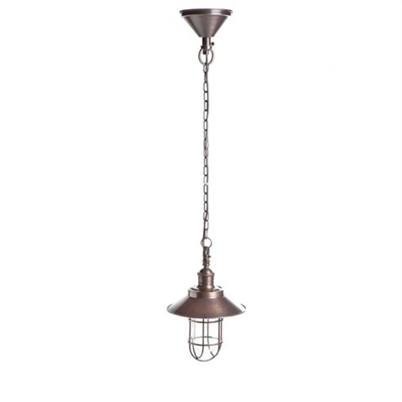 Maine Metal Pendant Light - Copper