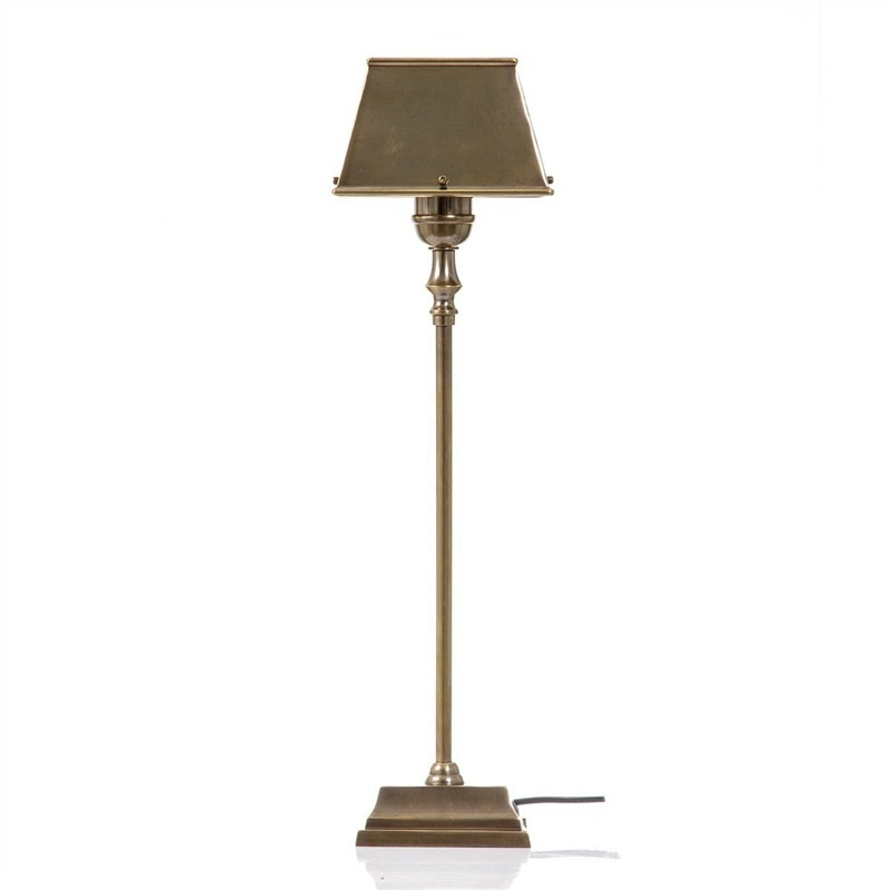 Collin Metal Table Lamp - Antique Brass