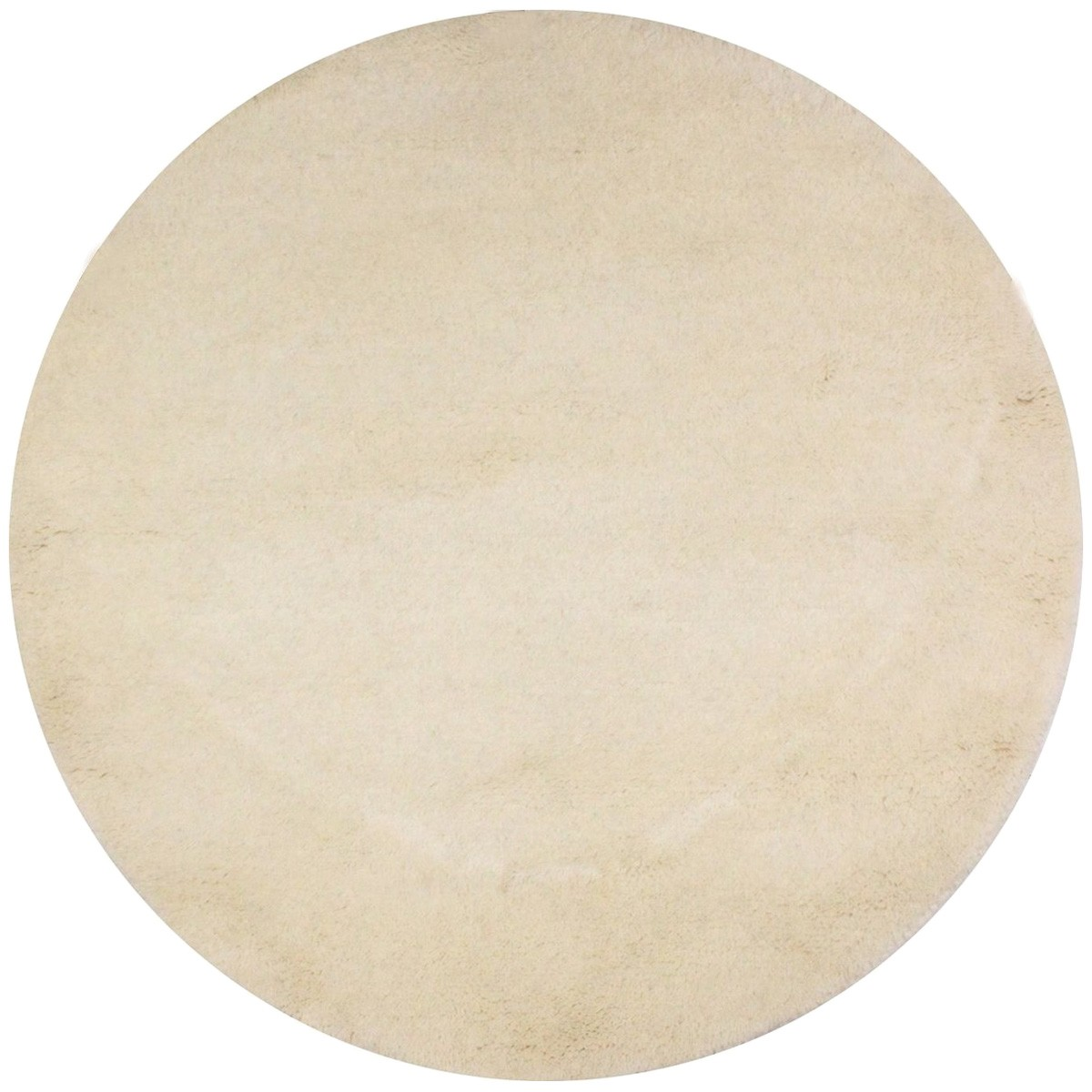 Everest Hand Knotted Round Wool Rug, 244cm