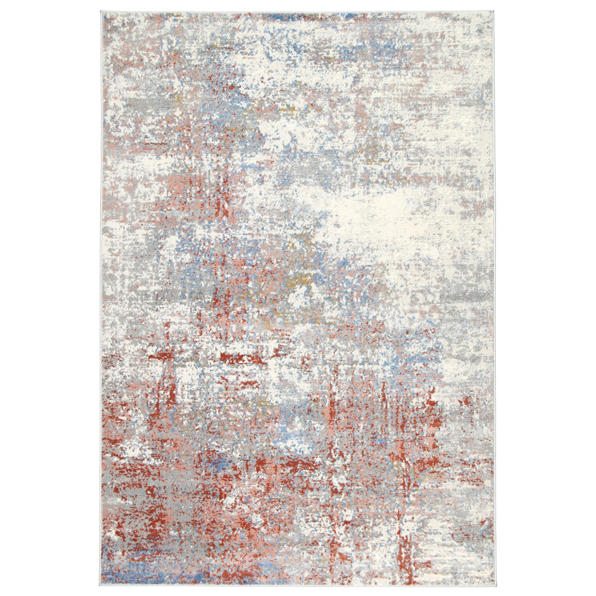 Expressions No.08 Transitional Rug, 400x300cm, Beige / Rust