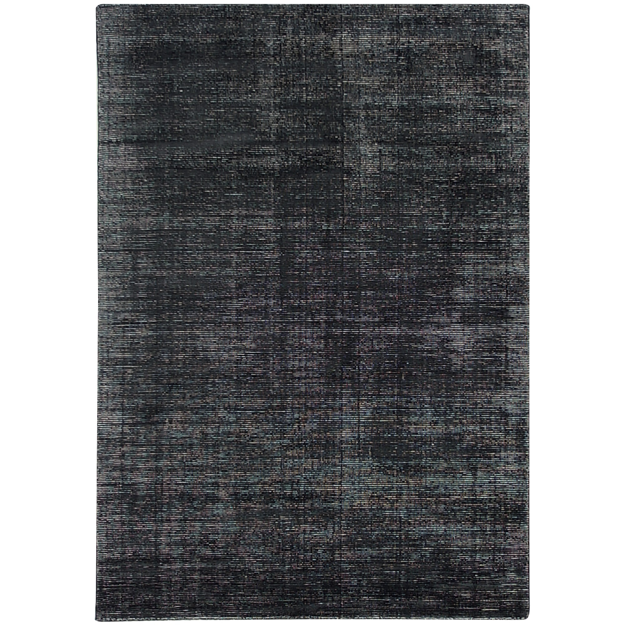 Elements Hand Knotted Wool Rug, 160x230cm, Charcoal