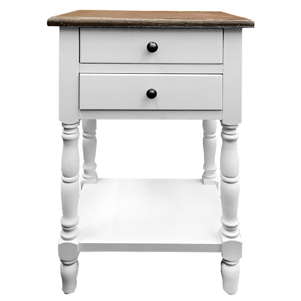 Vasteville 2 Tone Bedside Table