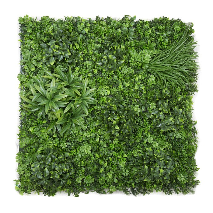 Artificial Variegated Foliage Wall Mat, Type B, 100cm