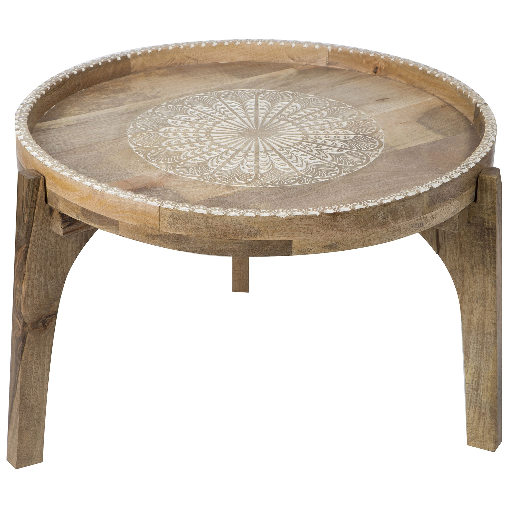 Aitana Mango Wood Side Table