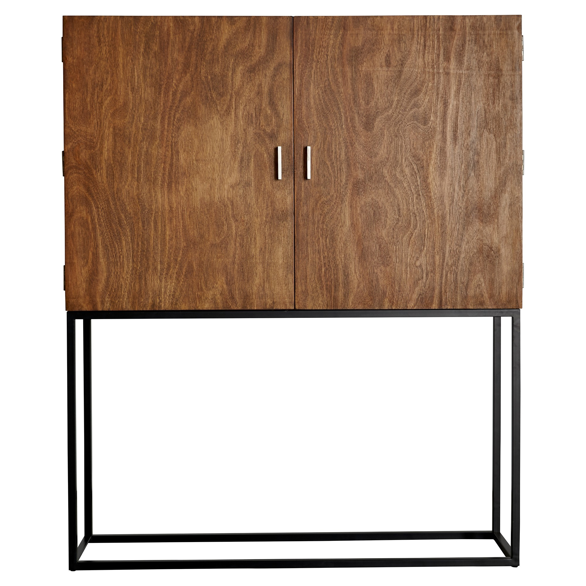 Boston Wood & Metal Drinks Cabinet