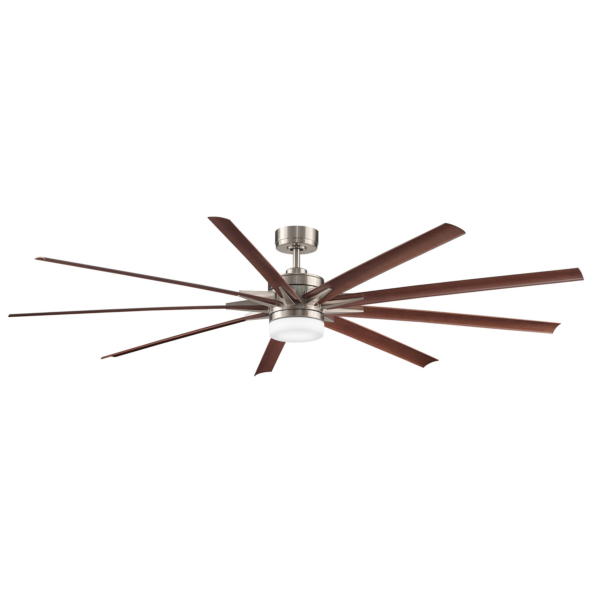 Fanimation Odyn DC Ceiling Fan with LED Light, 213cm/84