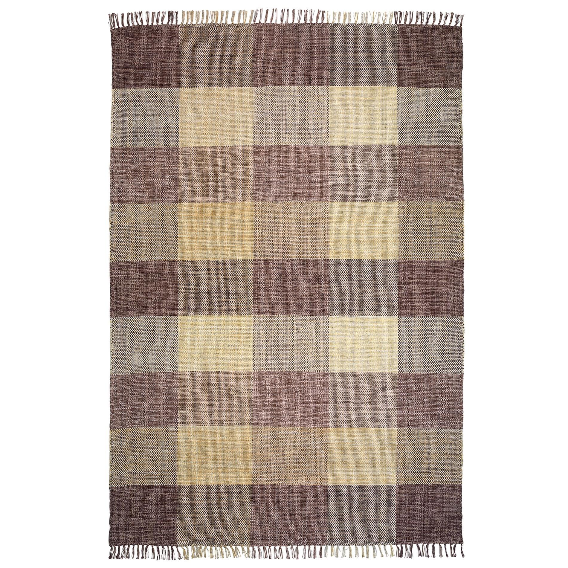 Oxford No.189 Cotton Modern Rug, 290x200cm, Beige