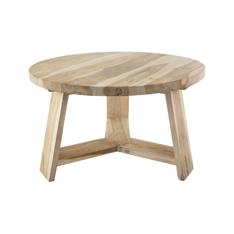 Bermuda Timber Round Side Table