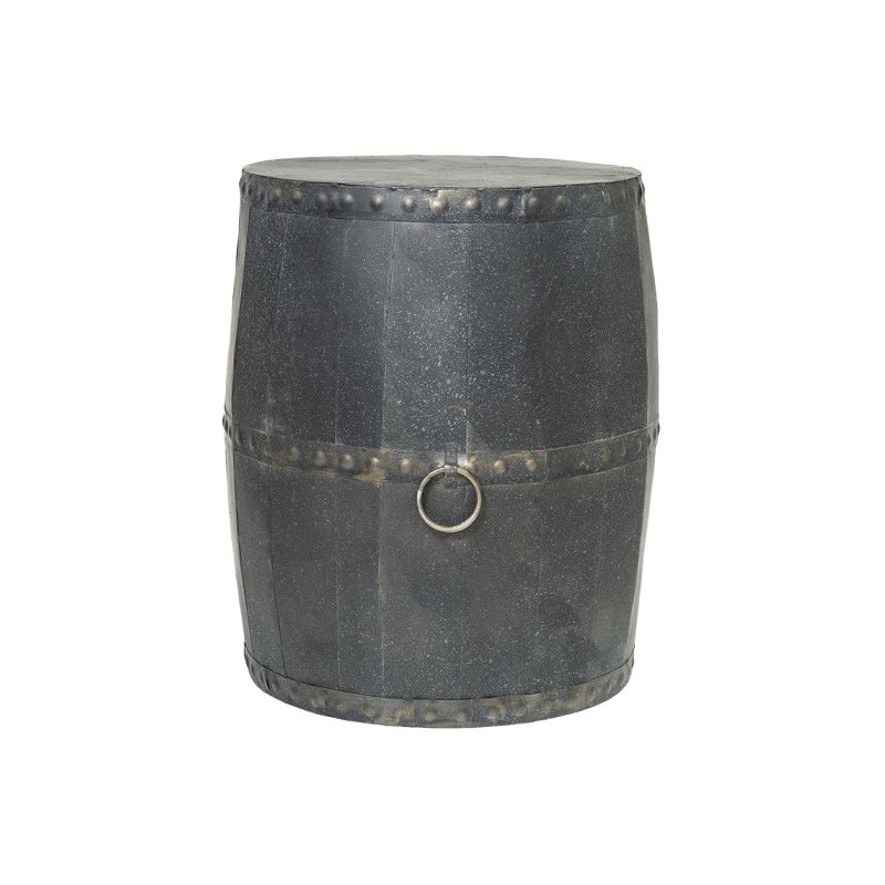 Batavia Metal Drum Stool