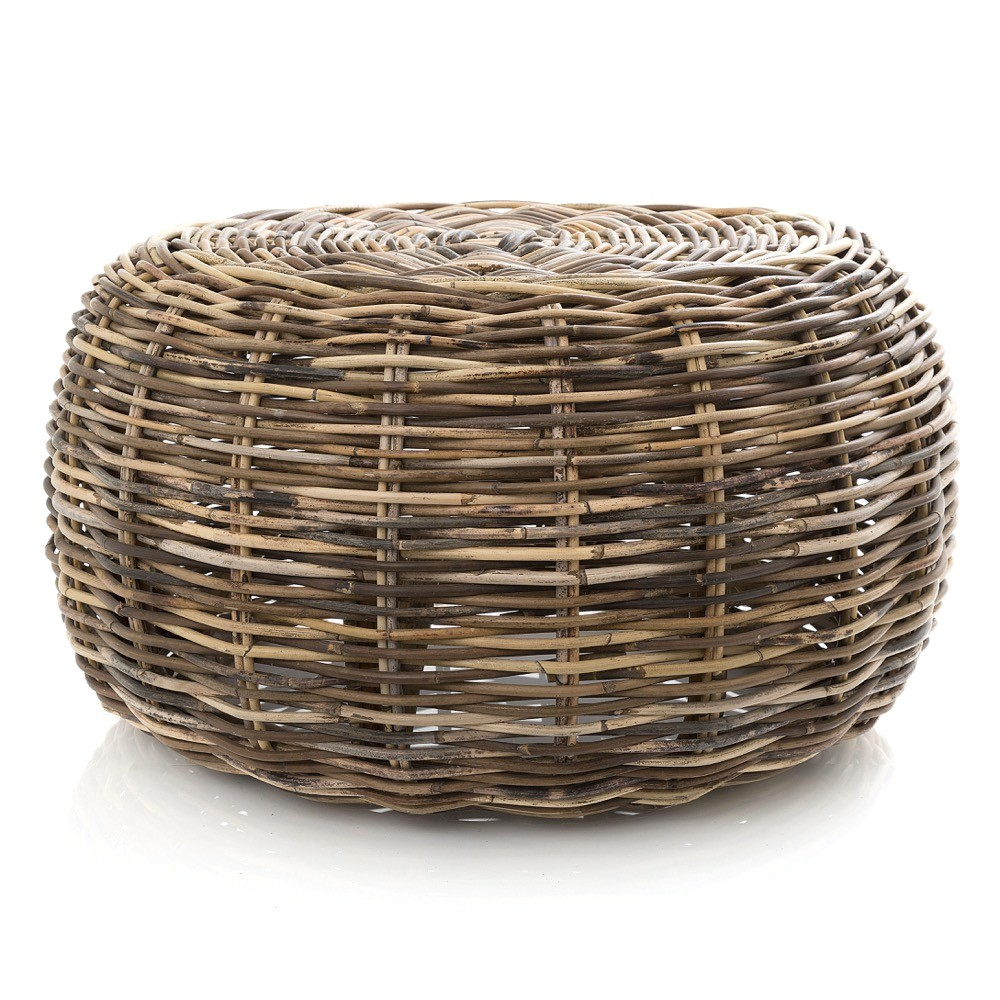 Seville Rattan Round Coffee Table / Ottoman