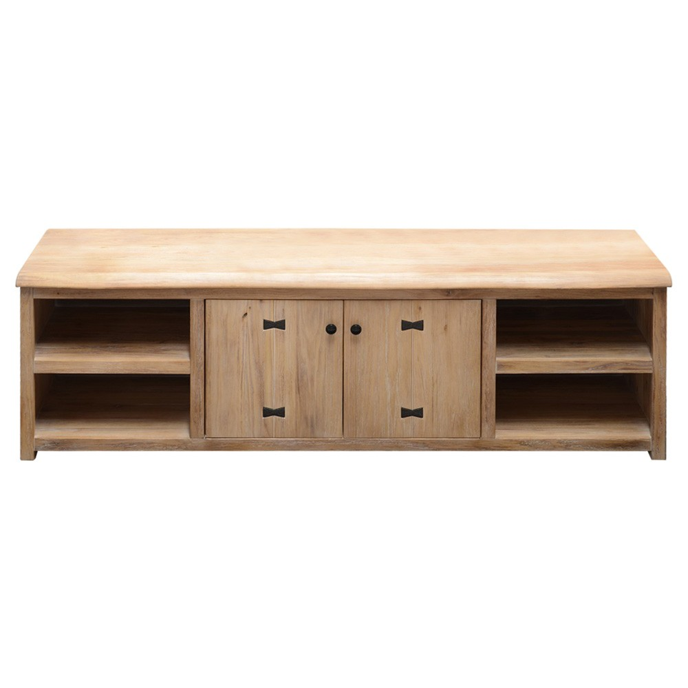 Ramsey Mountain Ash Timber 2 Door TV Unit, 188cm