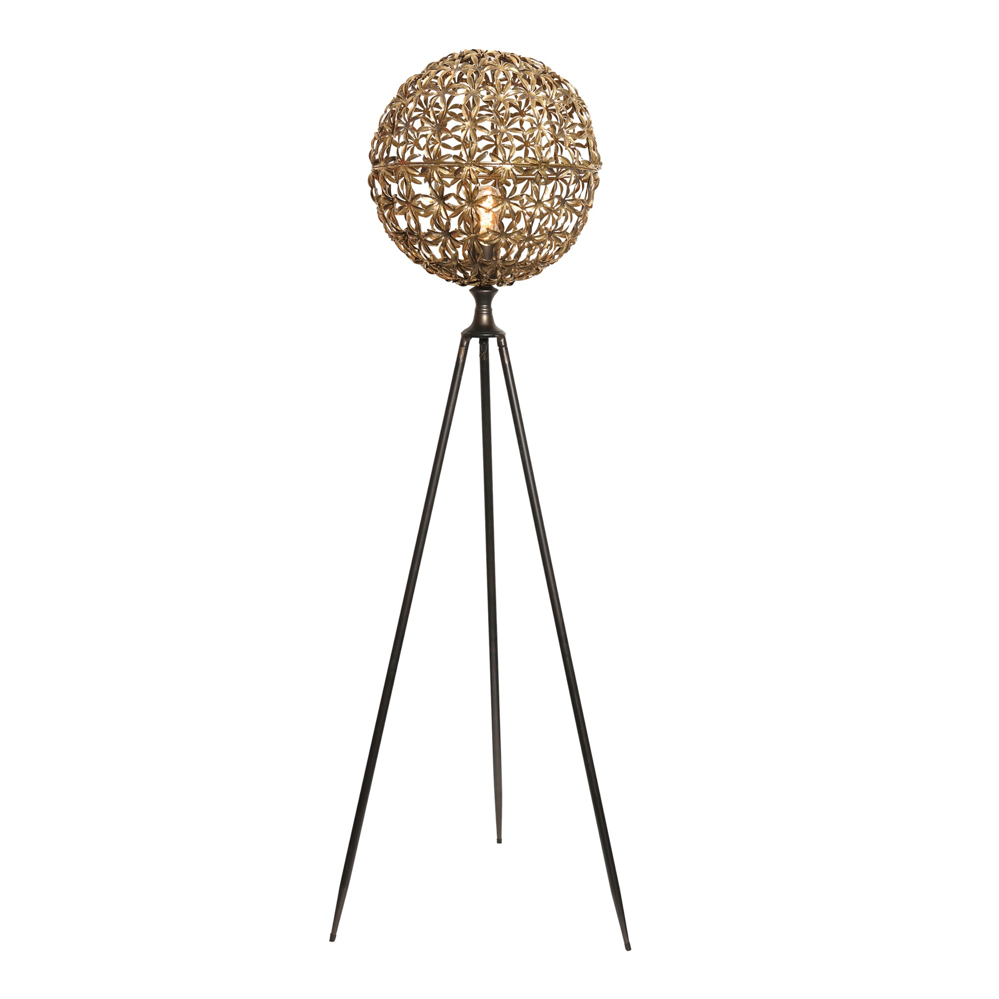 Jawad Metal Tripod Floor Lamp