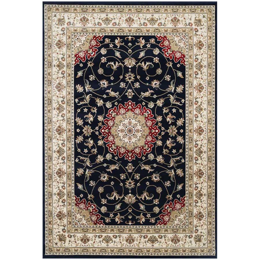 Ghaznee Bhavik Oriental Rug, 150x80cm, Black / Cream