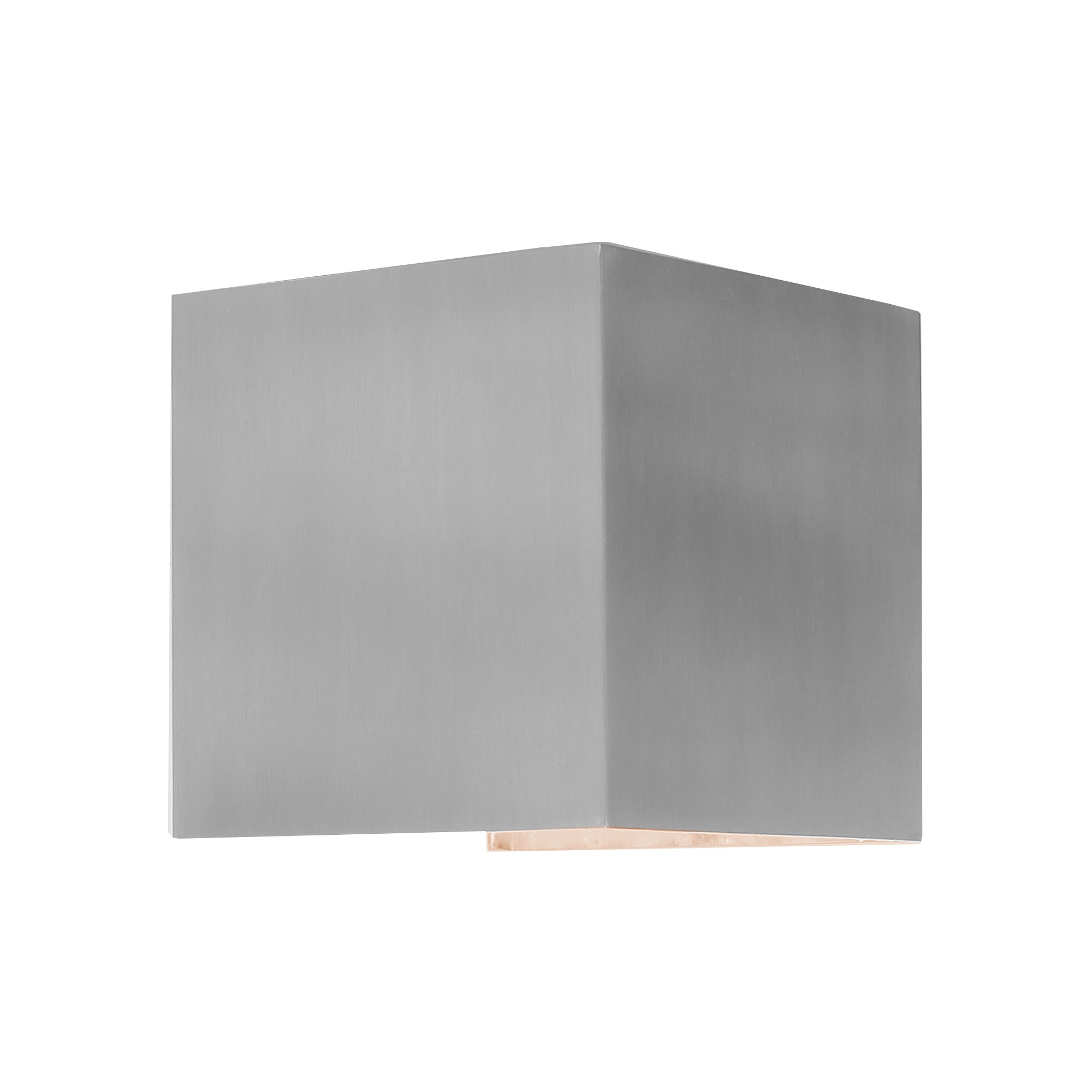 Glenelg IP54 Exterior LED Wall Light, Silver