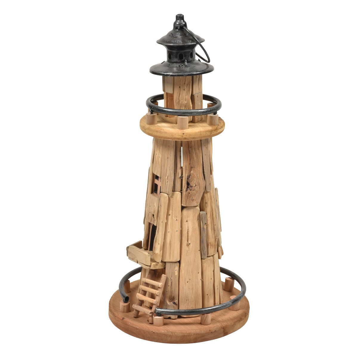 Amador Drfitwood Lighthouse Sculpture