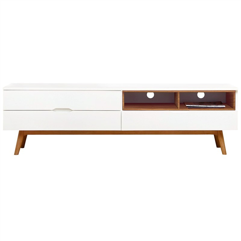 Orchid Commercial Grade 2 Drawer Lowline TV Unit