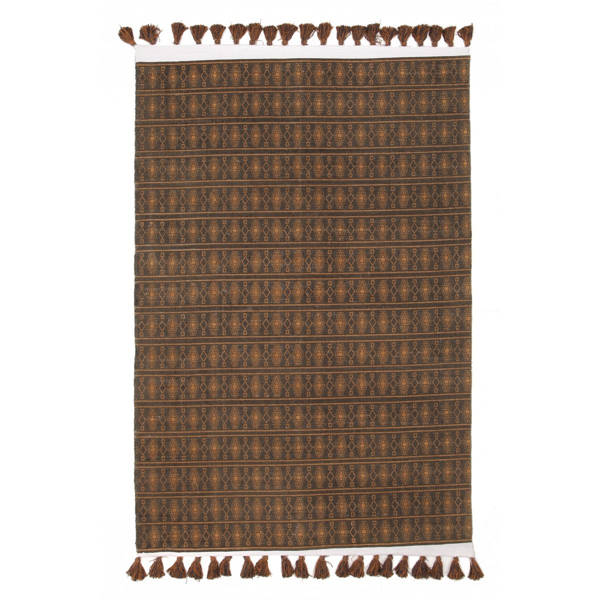 Gypsy Tribal Reversible Cotton Rug, 220x150cm