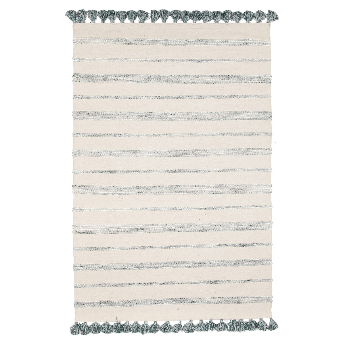 Gypsy Coconut Reversible Cotton Rug, 270x180cm