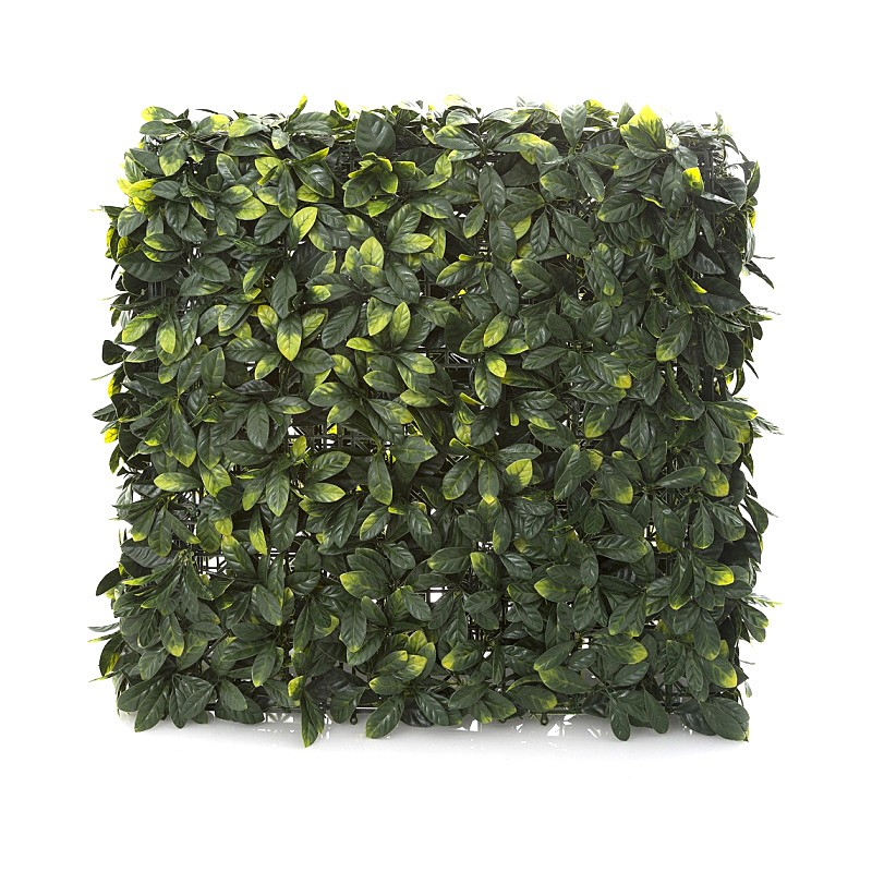 Artificial Laurel Leaf Hedge, 75cm