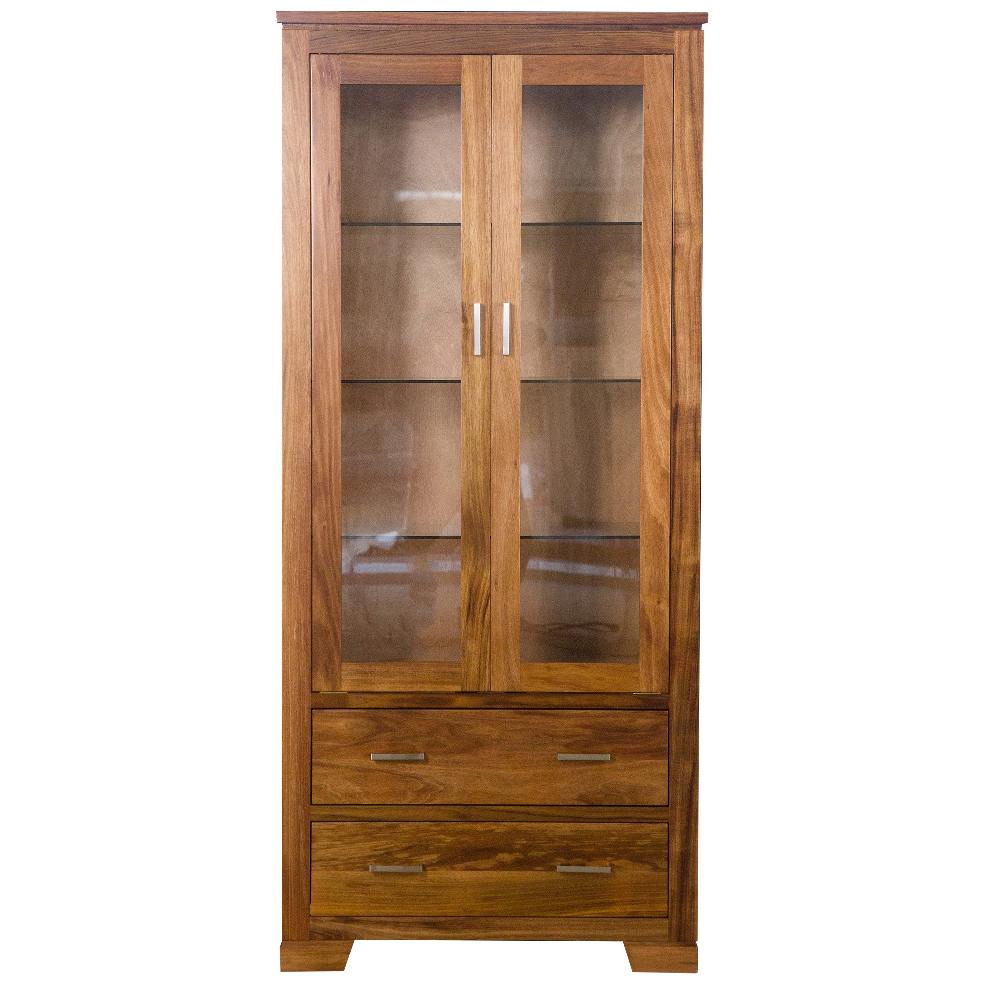 Harlington-II Blackwood Timber Display Cabinet