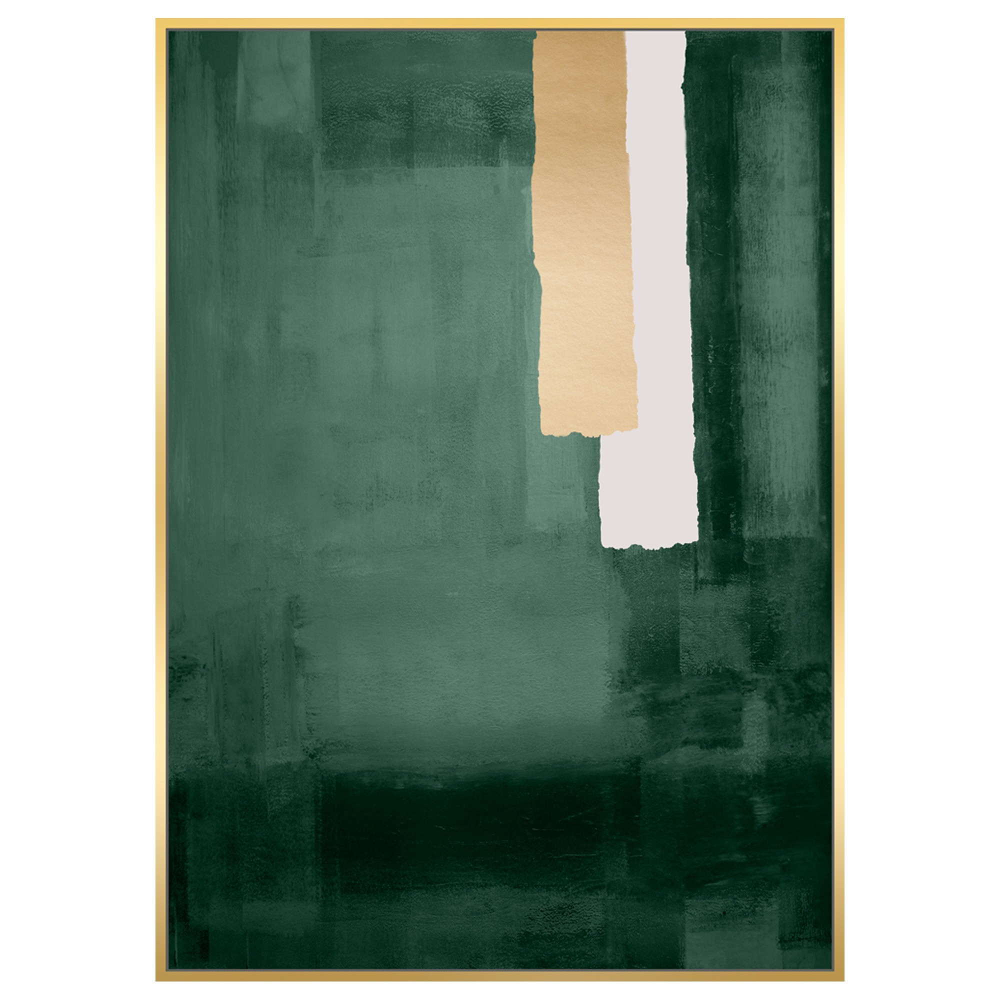 Sako Framed Hand Painted Abstract Canvas Wall Art, 120cm