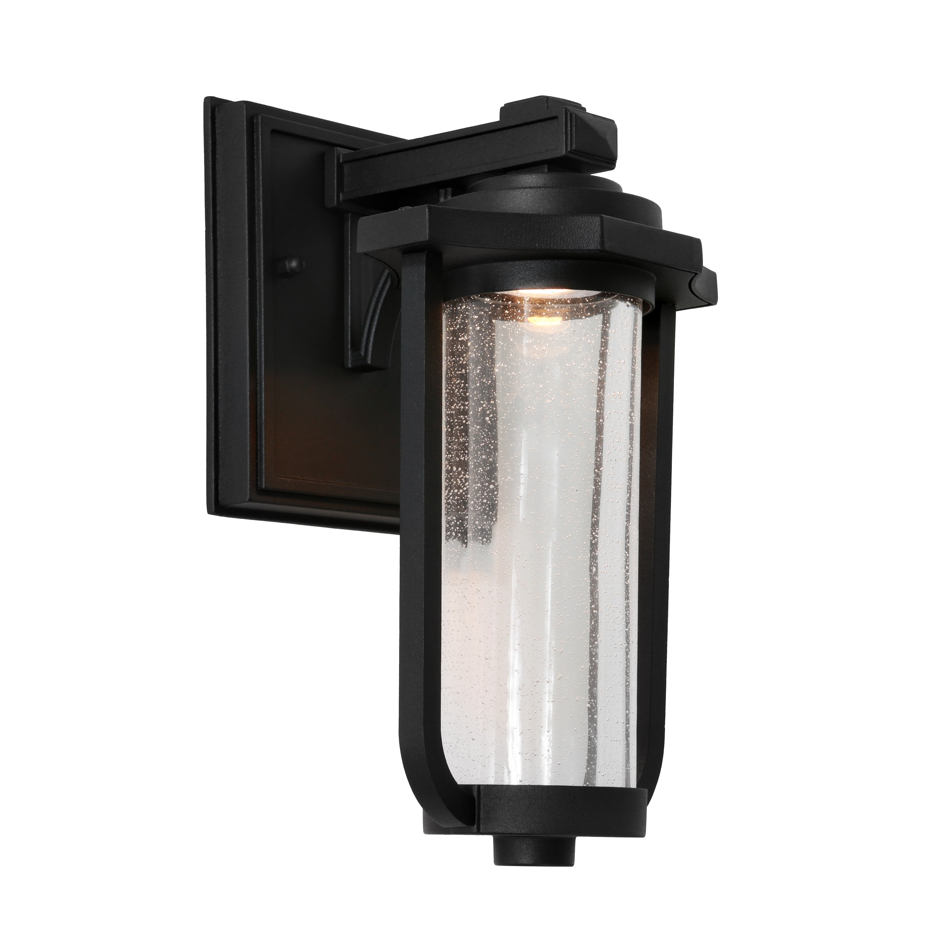 Hartwell Commercial Grade IP44 Exterior LED Wall Lantern, Black