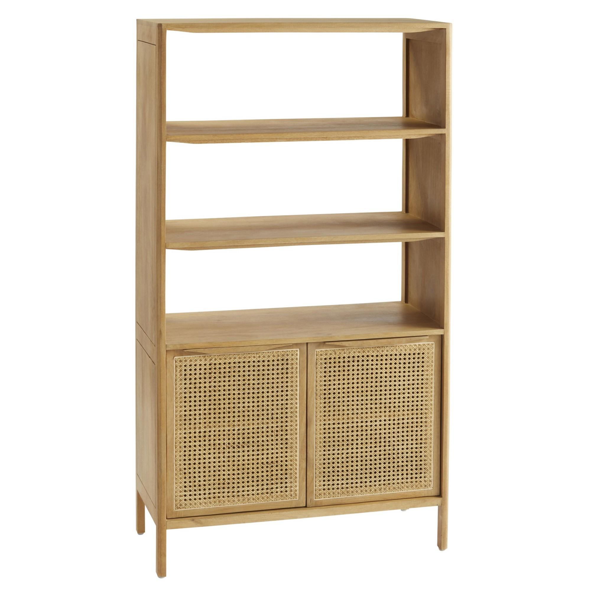 Santali Mango Wood Display Shelf