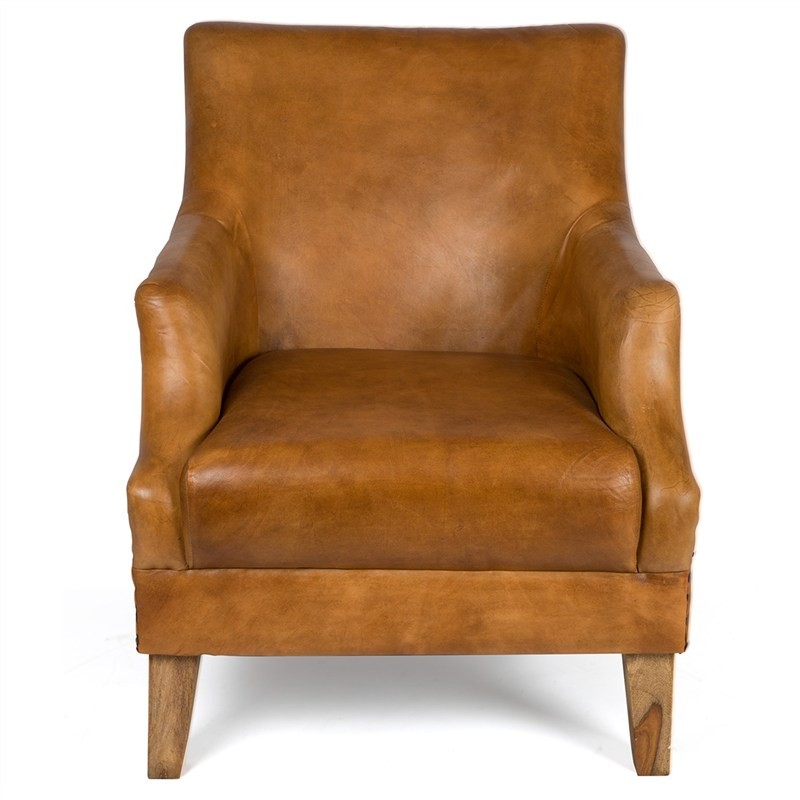 Gramercy Leather Armchair