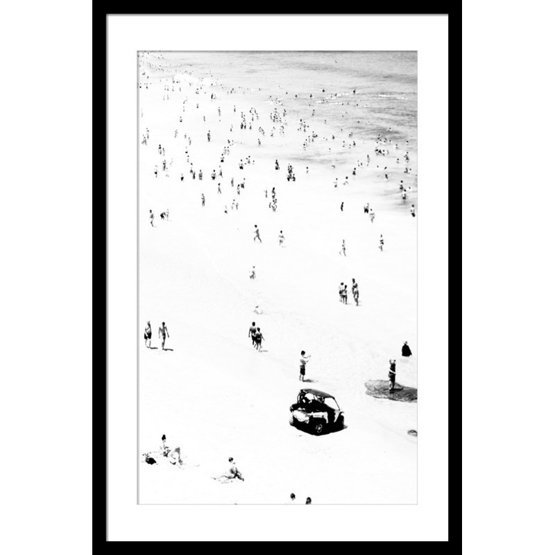 Little Bathers Right Photography Wall Art - Small